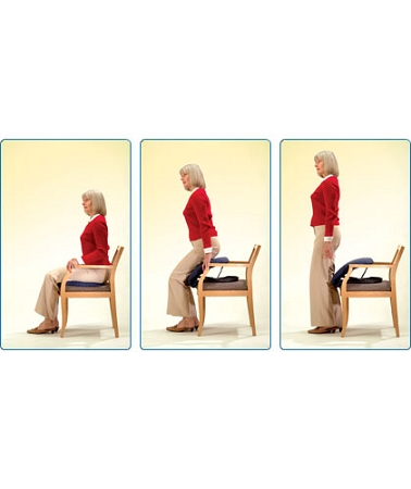 Up Easy Lifting Seat Cushion Assistive Standing Device
