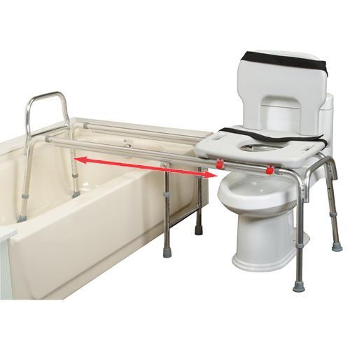 Xx Long Toilet To Tub Sliding Transfer Bench Extra Long